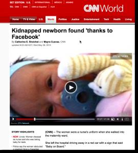 CNN Stolen Baby Clip